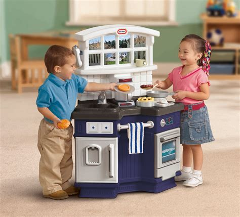 tikes side  side play kitchen toy