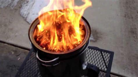 video  diy walmart gasifier forge   wood pellets
