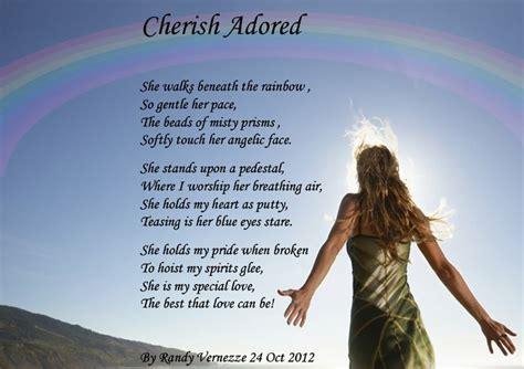 cherish cherish adored herish pinterest poem