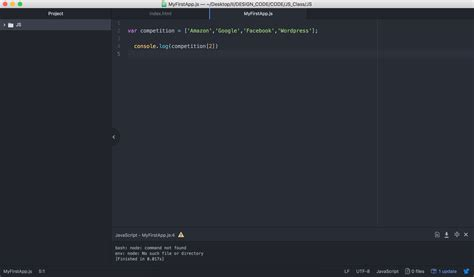 console js javascript console won t run my code from js file in