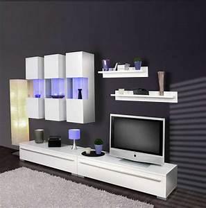 Moderne Wohnwände Weiss Hochglanz : wohnw nde wei hochglanz dekoration wand schwarz streichen ~ Sanjose-hotels-ca.com Haus und Dekorationen
