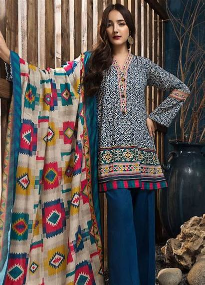 Limelight Winter Khaddar Piece Suit Unstitched Printed