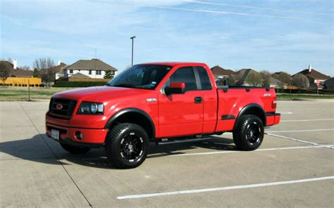 truck   red    stx modified rig  texas