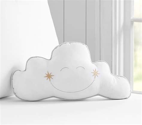 cloud decorative pillow pottery barn kids