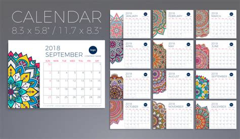 calendario fotos vectores gratis