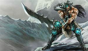 League of Legends Wallpaper: Tryndamere - The Barbarian King