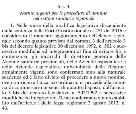 Nomine Consiglio Dei Ministri by Lo Stop Alle Nomine Dei Manager Della Sanit 224 Siciliana Il