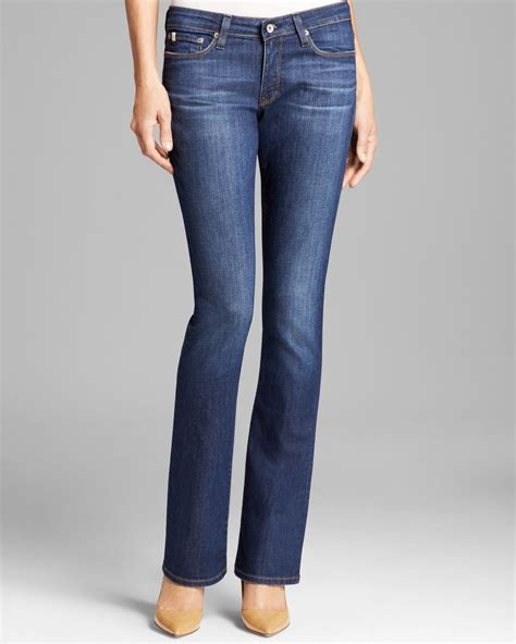 big star jeans sarah slim bootcut  burlington  blue lyst
