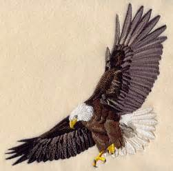 Flying Eagle Machine Embroidery Designs
