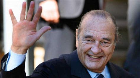 Fallece el ex presidente francés Jacques Chirac a sus 86 ...