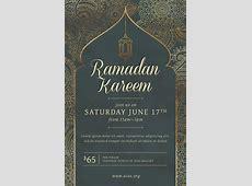 Ramadan Event Flyer Template PSD + DOCX The Flyer Press