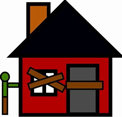 Foreclosure Abandoned Empty Pixabay Vector Graphic Estate