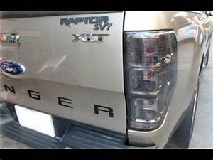 How To Replace Rear Tail Light Ford Ranger 2016