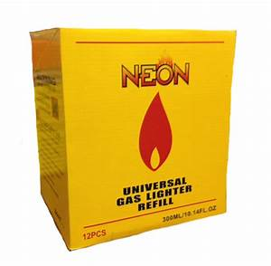 Neon Butane 300 ml 12 ct Box UN 1057 No UPS Shipping