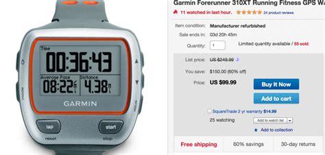 Garmin 310xt Best Price Great Deal Garmin Forerunner 310xt For 99 Running