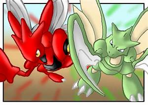 Pokemon Scyther Vs Scizor Images | Pokemon Images