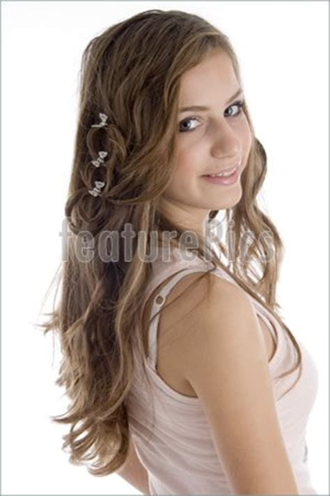 people side pose  young girl stock image