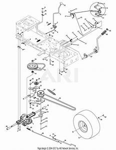 Troy Bilt 13an77kg011 Pony  2008  Parts Diagram For Drive