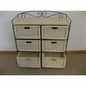 Rangement Tiroir Bois : meuble rangement a tiroir maison design ~ Premium-room.com Idées de Décoration