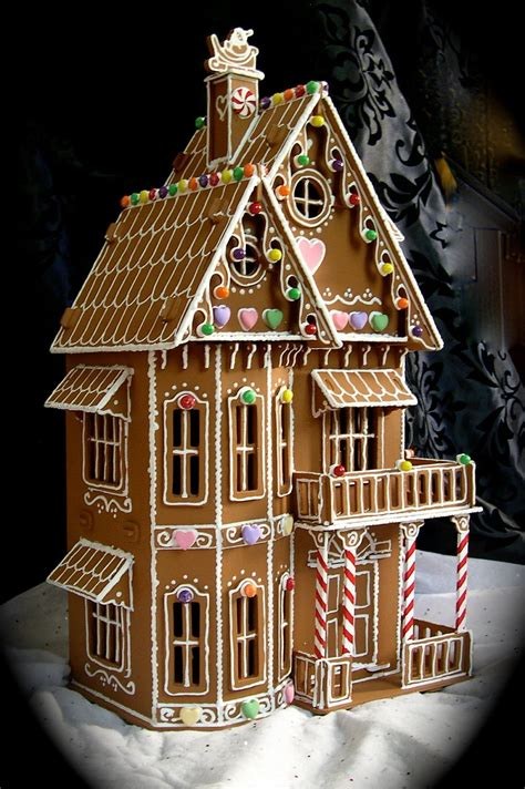 fancy gingerbread house templates faux gingerbread house in the style