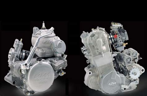 Two Stroke Vs. Four Stroke Motorcycle Engines