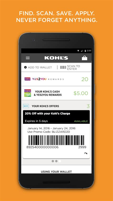 kohls android apps  google play