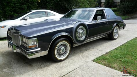 2 Seater Cadillac 1984 custom built cadillac seville deelegante 2 seater