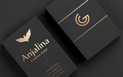 Creative Gold Foil Business Card Mockup Design Free Business Card Layout Grid Luxury Examples Maker With Linkedin Keychain Holder Doctor Logos Real Estate Printing In Johor Bahru