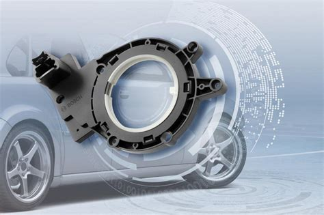 New Bosch Steering-angle Sensor Enters Series Production