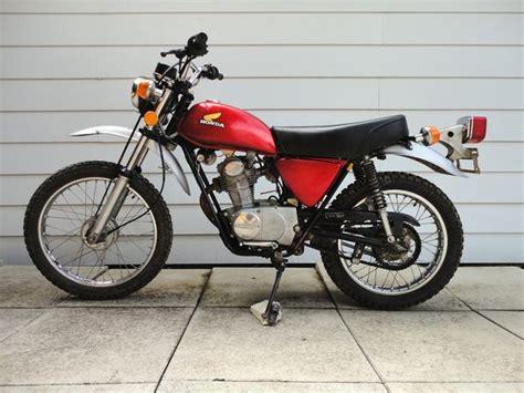 1974 Honda Xl100. A Reiteration Of The Honda Sl100. Great