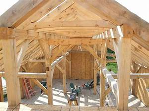 Hardwood Timber Frame Photo Gallery New Heritage Woodworking