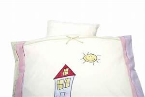 Bettwäsche Kinderbett 100x135 : alvi bettw sche das haus 100x135 online kaufen bei kidsroom markenshop alvi alvi schlafen ~ Markanthonyermac.com Haus und Dekorationen