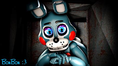 When Toy Bonnie Just Looks At Camera All Night... By