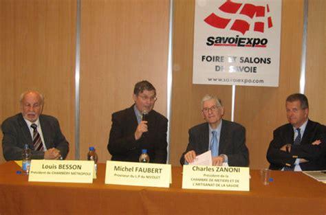 chambre des metiers savoie une nouvelle dimension pour savoiexpo en 2009