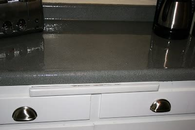 Spray Paint Laminate Countertops by Rocky Before After Painting My Countertops
