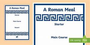 roman menu template roman menu template roman food roman With roman menu template