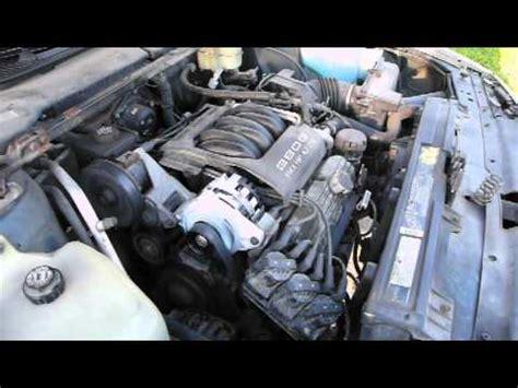 how cars engines work 1995 oldsmobile 88 navigation system 1993 oldsmobile 88 royale 3800 engine v 6 startup youtube