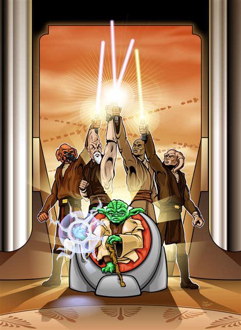 jedi council image clone wars multi media project fans
