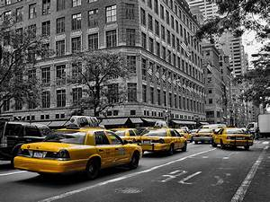 New York Yellow Taxi Photograph by New York