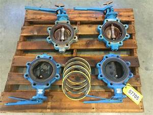 Used 6 U0026quot  Keystone Manual Butterfly Valve Figure 222 For