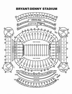 Bryant Denny Stadium Seating Diagram  Diagrams  Auto Parts Catalog And Diagram