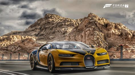 Tunes news forza horizon forza motorsport forza pc. Forza Horizon 4, Bugatti, Supercars, Yellow, Mountain - Forza Horizon 4 Bugatti Chiron ...