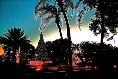 Florida Christmas Wallpaper