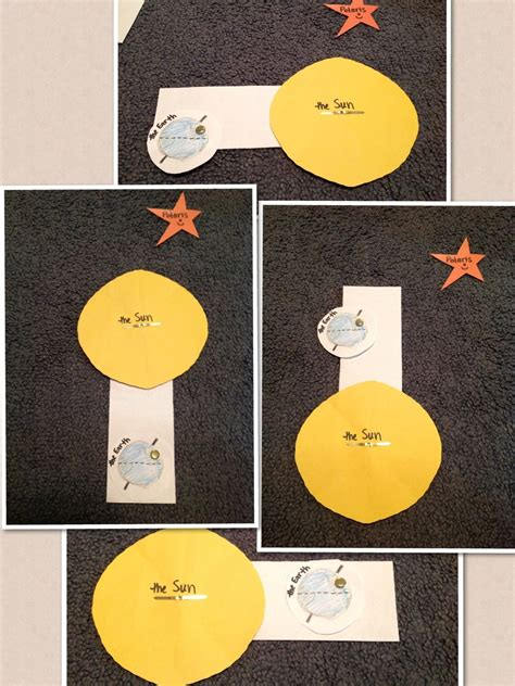 Create a Sun and a Earth to rotate around it to show how ...