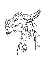kinder malvorlagen ungeheuer drachen