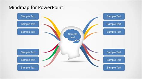 powerpoint map templates mind map diagram template for powerpoint slidemodel