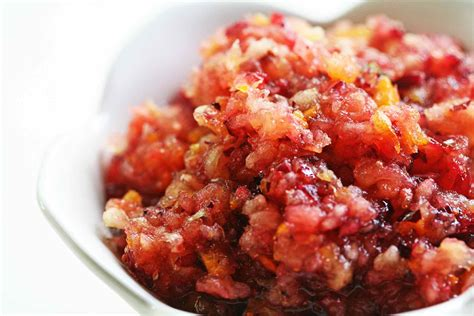 cranberry recipe fresh cranberry relish with orange and apple