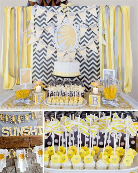 sunshine baby shower pictures