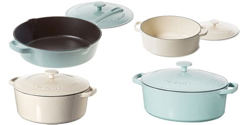 amazon save     cuisinart cast iron cookware mylitter  deal   time