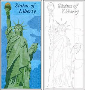 Statue Of Liberty Diagram